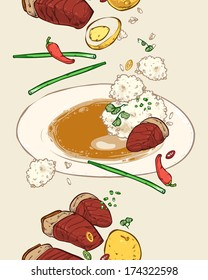 Vietnamese stew pork