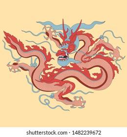 Vietnamese traditional decoration, Vietnamese dragon art