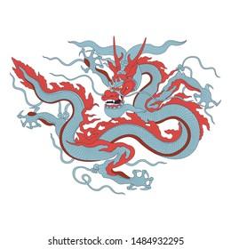 Vietnamese traditional decoration, Vietnamese dragon art, Asia dragon art