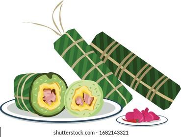 cuisine vietnamienne traditionnelle de fin d'année