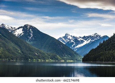 A view of Lake in British Columbia.	0