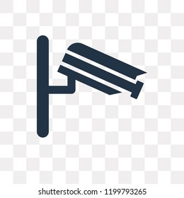 Vigilance vector icon isolated on transparent background, Vigilance transparency concept can be used web and mobile