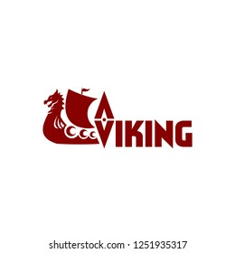 Viking boat for sport templates with vector files.