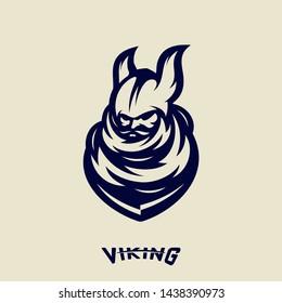 Viking Logo Stok Vektörler, Görseller ve Vektör Sanatı