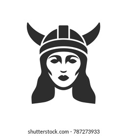 Viking female logo