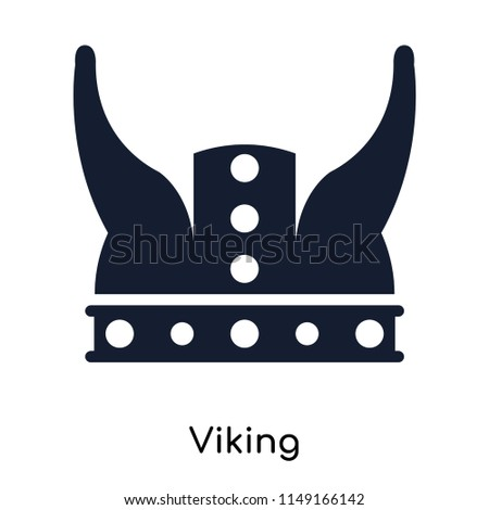 8bfd1628605ec Viking icon vector isolated on white background for your web and mobile app  design, Viking logo concept - Vector