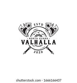viking labels, emblems and logo