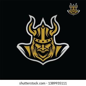 viking logo design new vector