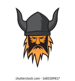 viking logo stock vektor template
