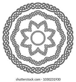 Viking patterns. Elements of the pattern