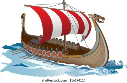 Viking Sailboat