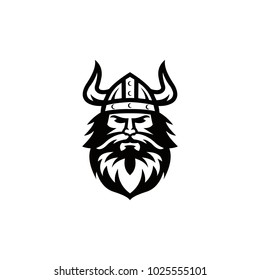 viking spartan logo graphic vector template download