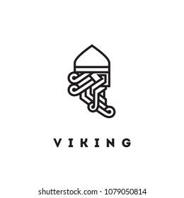 Viking vector Head