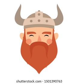 Vikings logo, childish scandinavian vector background, kids apparel, fabric, textile, nursery vector illustration