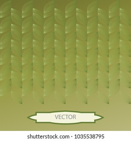 Vine background with banner