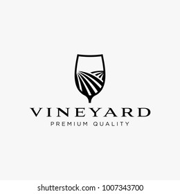 Vineyard logo design inspiration