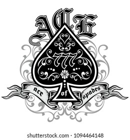 vintage ace of spades