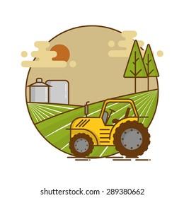 Vintage Agriculture vector