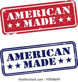 Vintage American Made Stamps