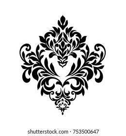 Vintage baroque frame scroll ornament engraving border floral retro pattern antique style acanthus foliage swirl decorative design element filigree calligraphy.