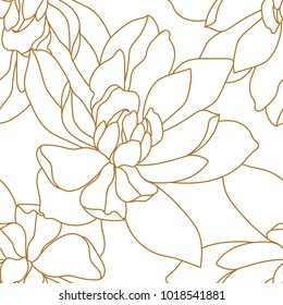 Vintage baroque pattern seamless vector in classic flower graphic style background for backdrop, template, cover page design , fabric, textile.Damask seamless floral pattern with roses.