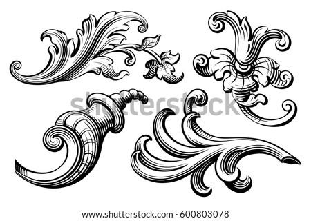 Victorian frame border Antique Vintage Baroque Victorian Frame Border Monogram Floral Ornament Leaf Scroll Engraved Retro Flower Pattern Decorative Design Shutterstock Vintage Baroque Victorian Frame Border Monogram Stock Vector
