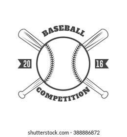 Vintage baseball badges