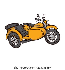 Motorcycle Sidecar Images, Stock Photos & Vectors | Shutterstock