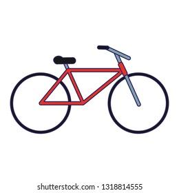Vintage bike symbol