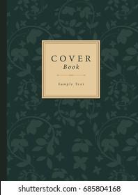 Vintage Book Cover. Vector Illustration