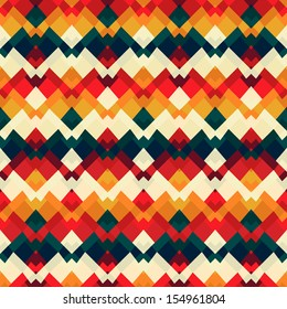vintage bright seamless pattern
