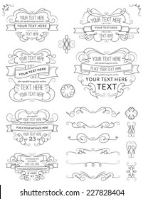 Vintage Calligraphy Design Elements Ten