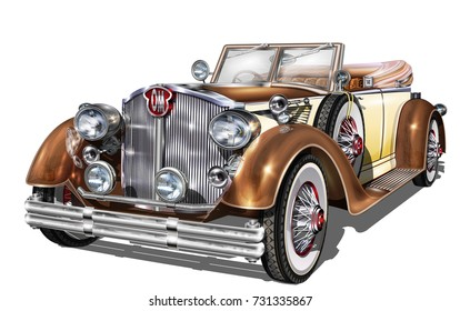 Vintage Car Images, Stock Photos \u0026 Vectors