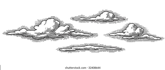 Cloud Woodcut Images, Stock Photos & Vectors | Shutterstock