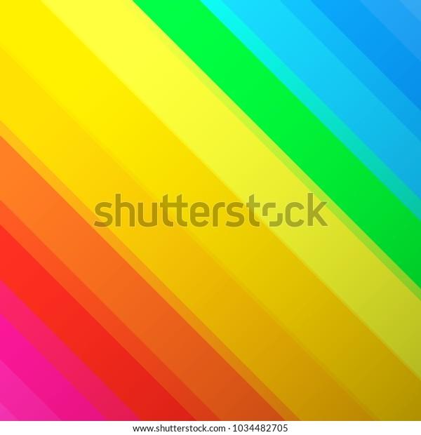 Vintage Color Lines Background Minimal Design Stock Vector