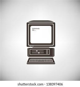 vintage computer, old computer,