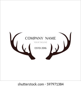Vintage Deer Hunter Logo