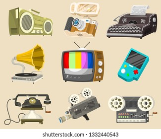 Radio Music Old Device Images, Stock Photos & Vectors | Shutterstock