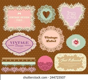Vintage Elegant Label 2
