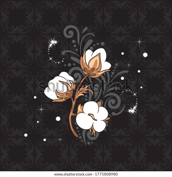 vintage-element-blooming-cotton-sparklin