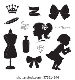 Hair Bow Images Stock Photos Vectors Shutterstock