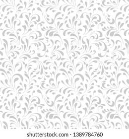 Vintage Floral pattern, Floral seamless pattern background. vector illustration