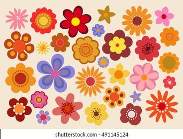 Vintage Flowers 60s/70s