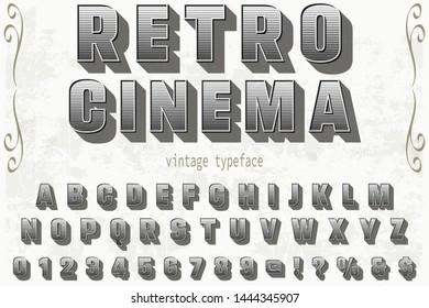 Handcrafted Font Stock Vectors, Images & Vector Art