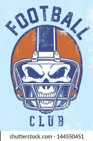 vintage football club design