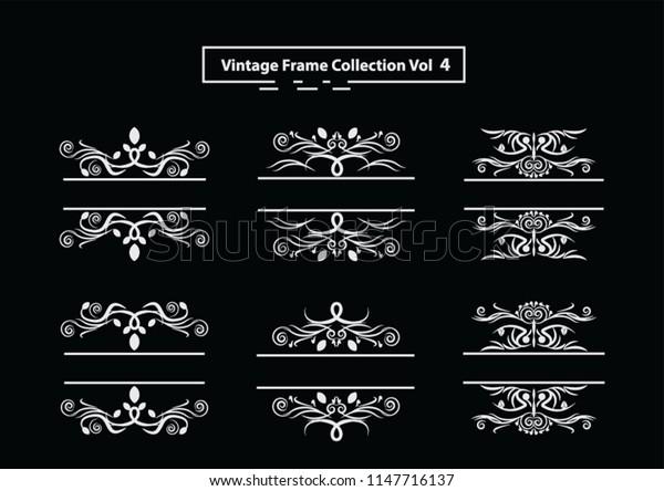 Vintage Frame Collection 04 Eps.10