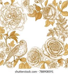 Golden Flower Images, Stock Photos & Vectors | Shutterstock