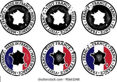 Vintage France Stamps for Tourism & Trade