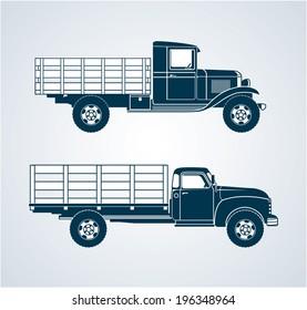 Vintage Fruit Trucks