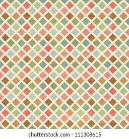Vintage Geometry Seamless Pattern
